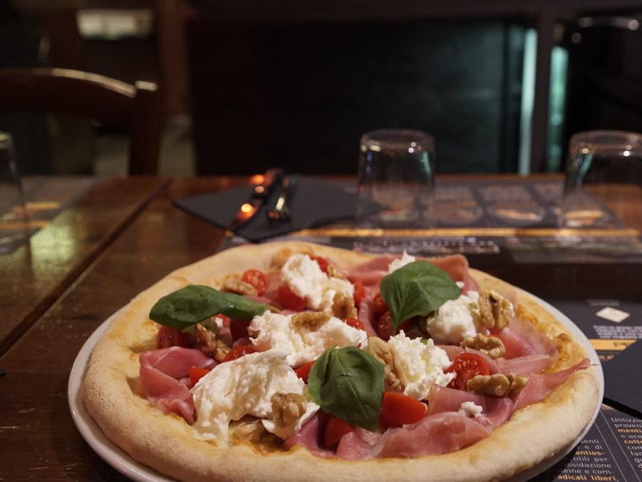 Pizza con farina di Kamut a Milano